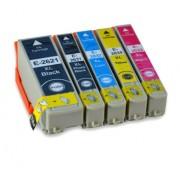 (5pack) EPSON T2636 multipack 26XL - kompatibilné náplne do tlačiarne Epson