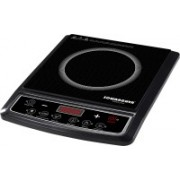 Sowbaghya Sleek Plus (With Pot) Induction Cooktop(Black, Push Button)