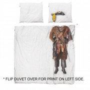 Snurk Piraten dekbedovertrek Snurk-2-persoons 200 x 220 cm incl. 2 kussenslopen 60 x 70 cm