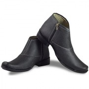 foai men black formal boots