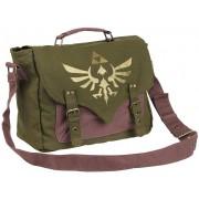 The Legend Of Zelda Golden Logo Umhängetasche-oliv - Offizieller & Lizenzierter Fanartikel Onesize Unisex