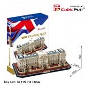 Cubicfun Palatul Buckingham Londra Anglia Puzzle 3D 72 de piese
