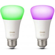 Philips Hue White & Color E27 2-pack
