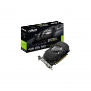 Tarjeta De Video NVIDIA ASUS GeForce GTX 1050Ti, 4GB GDDR5, 1xHDMI, 1xDVI, 1xDisplayPort, PCI Express X16 3.0 PH-GTX1050TI-4G