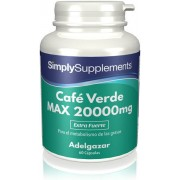 Simply Supplements Café Verde MAX 20000 mg - 60 Cápsulas