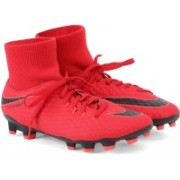 Nike HYPERVENOM PHELON 3 DF FG Football Shoes For Men(Red)