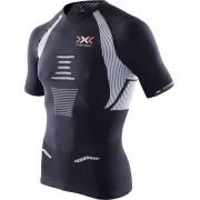 X-Bionic The Trick Hardloopshirt korte mouwen Heren zwart XL 2018 Compressie shirts