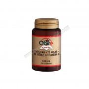 Productos OBIRE Chitosan + te verde + te rojo + vitamina c - 100 capsulas. obire - control de peso