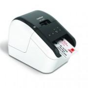 Етикетен принтер Brother QL-800, директен термопечат, макс. ширина на етикета 62mm, AirPrint, Wi-Fi Direct, USB