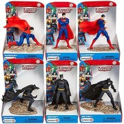 Schleich Superman vs Batman 6-Piece Set