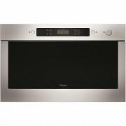 Cuptor cu microunde incorporabil AMW 435 IX, 22 l, 750 W, Display electronic, Inox