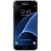 Samsung Etui Clear Cover do Galaxy S7 Czarny