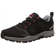 Reebok Men's Trail Ride Black and Asteroid Dust Sneakers - 9 UK/India (43 EU) (10 US)