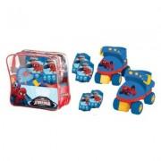 SET ROLE CU GENUNCHERE SI COTIERE SPIDERMAN - MONDO (MON18390)