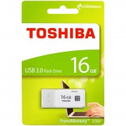 Toshiba USB-3.0-Stick TransMemory U301, 16 GB, Super Speed, weiss
