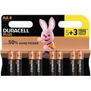 Duracell Plus Power AA 5 Pack + 3 Gratis (MN1500B5+3)