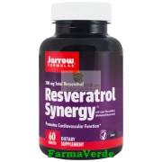 Resveratrol Synergy 200 Puternic Antioxidant 60 tablete Secom