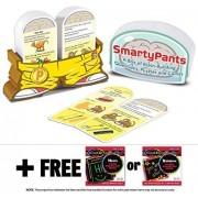 Preschool Smarty Pants Card Game Set + FREE Melissa & Doug Scratch Art Mini-Pad Bundle [50708]