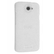HTC One X / XL / X+ Slim Mesh Case - HTC Hard Case (White)