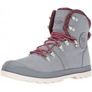 Palladium Boots Womens Women's Pallabroue Hikr LP Chukka Boot, Monument, 10 M US
