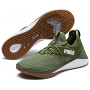 Puma muške tenisice Jaab Xt Summer Men S, Olivine White, zeleno bijele, 44,5