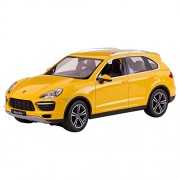 Deliababy Porsche Cayenne Turbo, Yellow