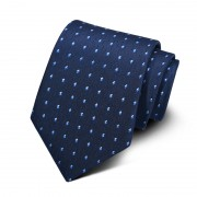Cravata barbati bleumarin Oscar