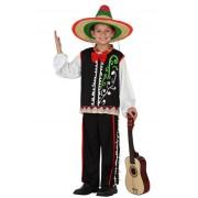 Atosa Disfraz de mariachi para niño - Talla 7 a 9 años