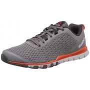 Reebok Men's Everchill Train White, Orange, Black and Grey Multisport Training Shoes - 9 UK