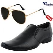 Vitoria Stylish Formal Shoes With Free Fashionable Unisex Sunglasses Combo