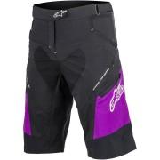 Alpinestars Stella Drop 2 Damas pantalones cortos de bicicleta Negro/Lila 26
