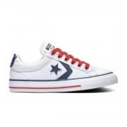 Converse All Stars Star Player 668013C Wit / Rood / Blauw-34 maat 34