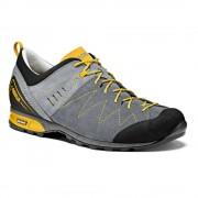 Asolo: Track MM - pánské boty Barva: grey/cloudy grey, Velikost: 9