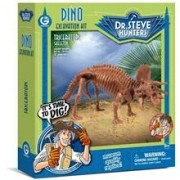 Dr Steve Hunters Dino Excavation Kit Triceratops