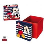 Disney Mickey Mouse poef/zitje en opbergbox in 1