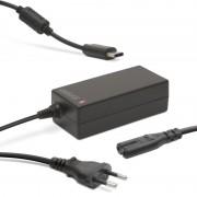 Univerzális USB Type-C laptop / notebook töltő adapter tápkábellel (Delight 55370)