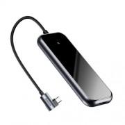 Adaptor USB Type C La 4 USB A Baseus Negru