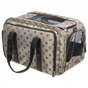 Trixie Hondendraagtas Maxima polyester 33x32x54 cm beige 28903