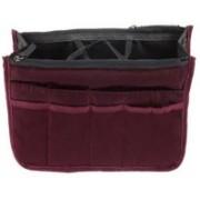 Styleys Handbag Organizer For Easy Handbag Switching (Maroon)(Maroon)