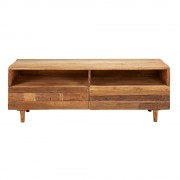 Maisons du Monde Recycled wood 2-drawer TV unit Tennessee
