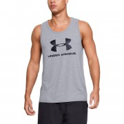 Under Armour Tílko Sportstyle Logo Tank Grey - Under Armour