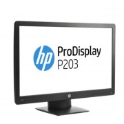 "Monitor TFT, HP 20"", ProDisplay P203, 5ms, 5Mln:1, DP/VGA, 1600x900 (X7R53AA)"