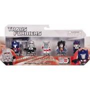 "Hasbro Optimus Prime, Megatron, Ratchet, Starscream, Soundwave ~ 1.25"" Mini-Figures: Transformers 30th Anniversary Series"