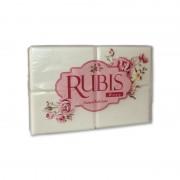 Sapun solid parfumat Rubis Rose 4 x 125 gr