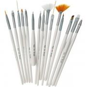 Set 15 pensule Nail Art Brush