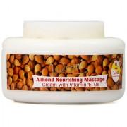 Indrani Almond Nourishing Massage Cream With Vitamin E Oil 200 gm