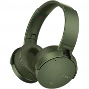 Casti audio Over-Ear Sony MDRXB950N1G, Wireless, Bluetooth, NFC, Extra Bass, Noise Cancelling, Green