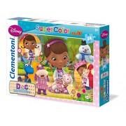 """Clementoni """"Doc Mcstuffins - Smiles and Hugs"""" Maxi Puzzle (24 Piece)"""