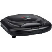 Prestige PSMFB 800 Watt Sandwich Toaster with Fixed Plates, Black Open Grill(Black)