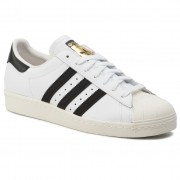 Pantofi adidas - Superstar 80s G61070 Wht/Black1/Chalk2
